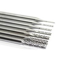 Buy cheap Tungsten Corn PCB End Mill Drill Bit 3.175mm Shank Diameter For PCB Mould plastic product