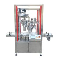 Buy cheap Automatic milk powder packing machine auger filler machine,cheap can tin pckaging machine with auger filler from wholesalers