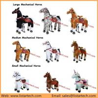 Buy cheap Animal Pony Ride on Horse Toy Wheel Baby Walking Car Children Pony Cycle Toy from wholesalers