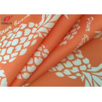 Buy cheap Printed 4 Way Stretch 87 Polyester 13 Spandex Fabric For Bikini , Waterproof from wholesalers