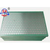 Buy cheap Steel Frame Vibrating Screen Wire Mesh / Shaker Screen Mesh For Mud Separation from wholesalers