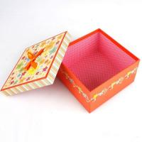 Buy cheap 5 * 5 * 4 Inch Cardboard Candy Gift Box, Chocolate Packaging Boxes With Coated Paper Cover from wholesalers