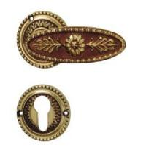 Buy cheap Brass Door Handles (1812RA-AG) product