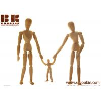Buy cheap well made flexble joint artist drawing wooden human body manikin gift children dolls or for house decoration. from wholesalers