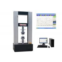 Buy cheap Auto Computerized Tensile Testing Machine Single / Dual Test Space TM 2101 from wholesalers