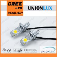 Buy cheap Super Bright H7 Car LED Headlight Bulbs 3600LM CREE-1512 25W/bulb from wholesalers