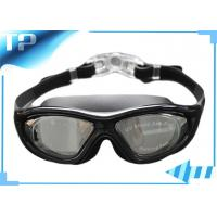 Buy cheap Safety Buckle Mirrored Custom Childrens Swimming Goggles With Big View from wholesalers