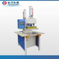 Buy cheap Double head pneumatic t-shirt embossing machine from wholesalers