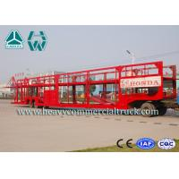 Quality Customized Carbon Steel Car Carrier Semi Trailer To Carry Car 2 Axels for sale