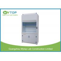 Buy cheap Polypropylene Laboratory Fume Hood Cabinet For Science Lab Chemical Resistance from wholesalers