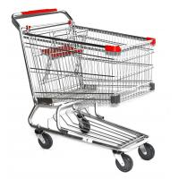 Buy cheap latest style rubber wheel Supermarket Shopping Trolleys Warehouse Series HBE-W-15 from wholesalers