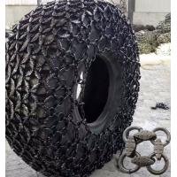Buy cheap Self Cleaningheavy Equipment Parts Protection Tyre Chain Forged Anti Skid from wholesalers