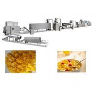 Buy cheap Crispy Corn Flakes Production Line , SS Material Breakfast Cereals Making Machine from wholesalers
