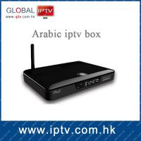 China HST iptv arabic tv box 2014 most reliable arabic iptv box with 411 arabic channels on sale