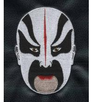 Buy cheap Custom embroidery digitizing Face book Beijing Opera Facial Masks Maji Shijieting WIK001 from wholesalers