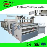 Buy cheap Brand new toilet paper making machine for sale with toilet paper roll cutter from wholesalers