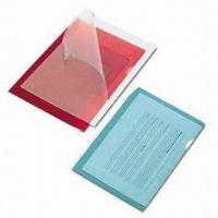 Buy cheap PVC Embossed Documents Holders, Suitable for Storing Multiple Documents without Hole-punching from wholesalers