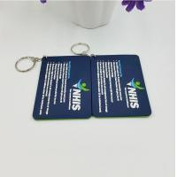 Buy cheap Personalized Company Advertisement Gift Tags Labels For Soft PVC Keychain from wholesalers