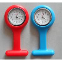 China Hot Sale Super Fashion Silicone Nurse FOB Watch, Doctor Watch, Silicone Wristband Watch on sale