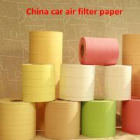 Buy cheap perfect car wooden pulp air filter paper from wholesalers