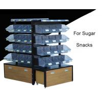 Buy cheap Multi Level Candy Display Case , Convenience Store Candy Racks With 20 Acrylic Boxes from wholesalers