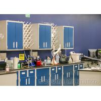 Buy cheap Blue And White Dental Lab Workstation , High Grade PP Sink Lab Bench Furniture from wholesalers