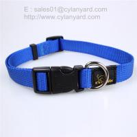 Buy cheap Solid Basic Nylon Dog Collars, Matching pet leash available separately from wholesalers