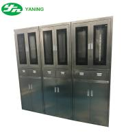 Buy cheap Stainless Steel Hospital Cabinets With Drawer , Operating Room Storage Cabinets from wholesalers