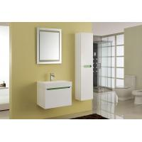Buy cheap 15mm PVC Board Modern Bathroom Sink Vanity With Resin / Glue Basin Aluminium Handles from wholesalers