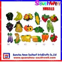 Buy cheap fruits&vegetables fridge magnets from wholesalers