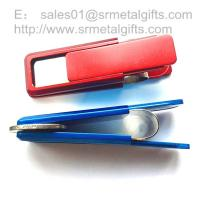 Buy cheap Retail designer stainless steel paper money clip coin clip from wholesalers
