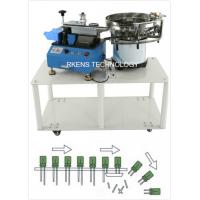 Buy cheap Radial Capacitor Lead Cutting Machine AC 220V/110V With Automatic Feeding Drum product