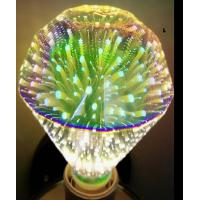 Buy cheap 3D Fireworks Galaxy Decorative LED Bulbs With Square Diamond Type 5W 100g from wholesalers