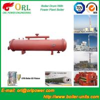Buy cheap Cement industry steam boiler mud drum TUV from wholesalers
