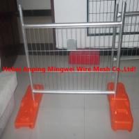 Buy cheap Clear plastic outdoor canada temporary fence from wholesalers
