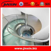 Buy cheap Stainless steel indoor stair railings for spiral staircase product