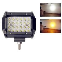 Buy cheap 4 Row Mini Led Flashing Light Bar Yellow White -40 To 85 ℃ Work Temperature from wholesalers
