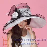 Buy cheap 2015 Hot Selling Organza Hats Wholesale in 2014 from wholesalers