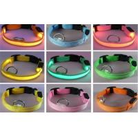 Buy cheap White Red Purple LED illuminated Collars Controled By The Button / Pet Accessories from wholesalers