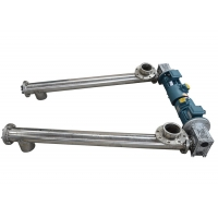 Buy cheap 60 Degree 53TPH Tublar Screw Conveyor With Stainless Steel from wholesalers