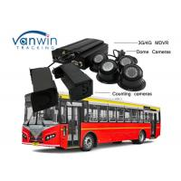 Buy cheap 3G / 4G Real-Time Monitoring Camera recorder with Bus People Counter GPS Tracking OSD from wholesalers