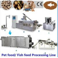 Buy cheap High Performance Dog Pet Food Production Line , Simple Operation Dog Food Processing Line from wholesalers