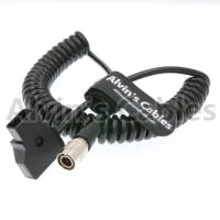 Buy cheap 4 Pin Hirose Male To D-Tap Cable BNC Audio Spring Coiled Electrical Cable from wholesalers
