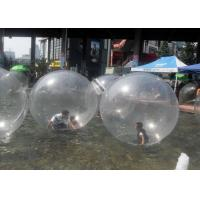 Buy cheap Durable 0.8mm PVC Giant Inflatable Hamster Ball , Inflatable Water Walking Ball from wholesalers