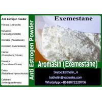 Buy cheap White powder Anti Estrogen Steroids Aromasin ( Exemestane ) For Steroid Cycle PCT107868-30-4 from wholesalers