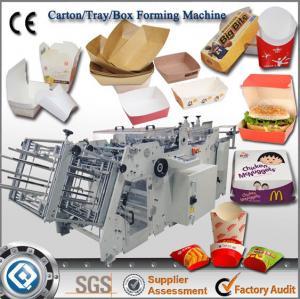 Buy cheap China Best Quality QH-9905 Automatic Carton Box Making Machine product