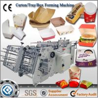 Quality China Best Quality QH-9905 Automatic Carton Box Making Machine Prices for sale