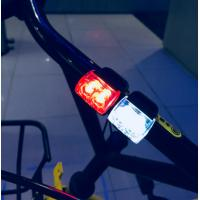 City Commuting LED Bike Lights Easily Operating With Built In Reed Pipe