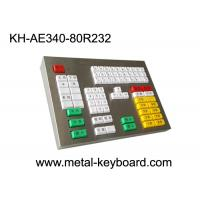 Buy cheap 80 Keys Mechanical Keyboard With Metal Panel For Transportation Area from wholesalers