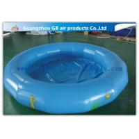 Buy cheap Round Kids Inflatable Swimming Pool For Water Game Acceptable Logo Printing product